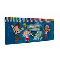 Jake And The Never Land Pirates 'Treasure Awaits Us' 50 Piece Colouring Pencils