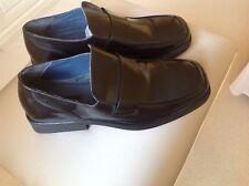 Mens Black Slip On Shoes Size 9