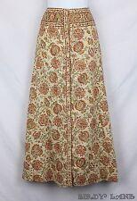 Vtg Saks Fifth Avenue Anne Klein Maxi Skirt Country Prairie Floral Boho Gypsy 14