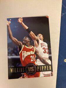 Card Wilkins vs Pippen SkyBox Premium '93-94 SHOWDOWN SERIES #9