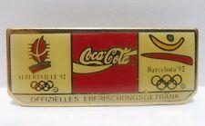 Coca-Cola - ALBERTEVILLE '92 / BARCELLONA '92 - PINS attacco bottone a innesto