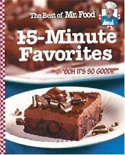 The Best of Mr. Food 15 Minute Favorites by Art Ginsburg (2004, Hardcover)
