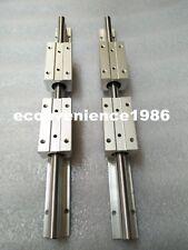 2X SBR25-1250mm FULLY SUPPORTED LINEAR RAIL SHAFT/&4 SBR25LUU Block