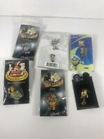 Disney trading pin toy story lot Buzz, Woody, Jesse, Bullseye VINTAGE RARE 7 Pin