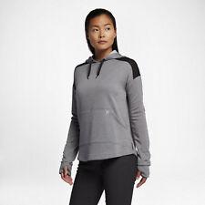 NWT HURLEY NIKE DRI-FIT United Fleece Womens Hoodie Pullover Cool Grey Sz.S $58