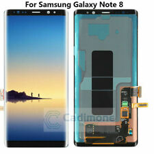 Samsung Galaxy Note 8 Black LCD Touch Screen Digitizer Replacement Part ORIGINAL