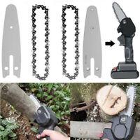 4 Zoll Kettensägen Ersatzketten für Mini elektrische Kettensäge Holzschneider