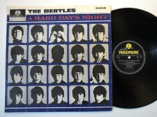 THE BEATLES - A HARD DAY'S NIGHT - LP - ORIGINAL UK 2ND PRESS MONO - PARLOPHONE