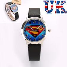 Children's Niños Niños Niñas Reloj De Superman ** ** Vendedor de Reino Unido