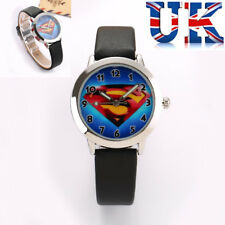 Children's Kids Boys Girls Superman Watch **UK Seller**