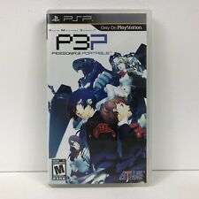 Shin Megami Tensei Persona 3 Portable P3P - Sony PSP - 730865600144
