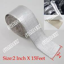2'' Aluminum Reinforced Tape Adhesive Backed Heat Shield Resistant Wrap For All