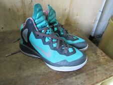de30dd4e2b7f Mens NIKE Zoom Hyperenforcer XD Wolf Grey-Green 511370-002 Size 8.5  Low