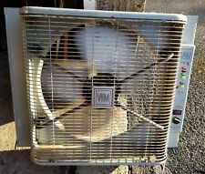 Vtg Vim Electric Deluxe Cooler Window Exhaust Fan Thermo Control 3 Speed Running