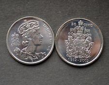 canada 50 c. 1952 - 2002 golden  jubeleue half dollar FDC