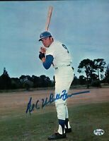 Al (The Bull) Ferrara Signed 8X10 Photo Autograph Dodgers Field One Line COA