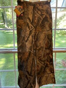 Realtree Hardwoods, Boys Size 20 Camo, Fatigue, Hunting Pants, 6 Pocket 28 x 30