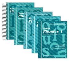 Saxon Homeschool Phonics Grade 1  Complete Home Study Kit NEW!