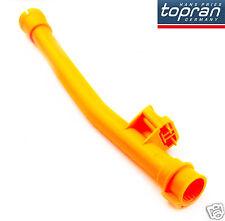 VW Passat Engine Dipstick Funnel Insert Guide Plastic Tube Orange 06B103663G/B