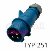 MENNEKES TYP 251 Part no.251 [IP44 230V 16A 3P+E]  Screw terminals single bod
