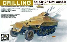 AFV CLUB GERMAN SD.KFZ.251/21 AUSF D DRILLING WWII 1:35 Cod.35082