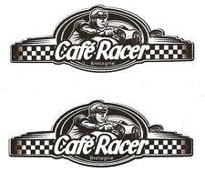 Sticker CAFE RACER bretagne 60mm x 22mm ( paire )