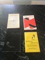 4 Rare Vtg Antique Trinidad Tobago Books Photos Display Vtg Songs Birds Lot