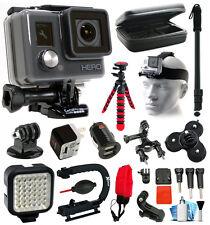 GoPro HD HERO Action Camera + Light + Case + LED + xGrip + Selfie Stick