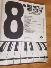 Songbook: Big Hits In Big Notes (Piano) 1982