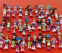 LOT OF 8 LEGO Friends and other mix Random ACTION FIGURES  #lk3