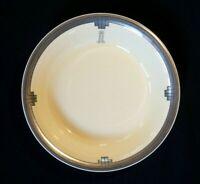Beautiful Clarice Cliff Platinum Hotel Large Soup Bowl