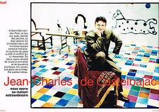 Coupure de presse Clipping  034 1998 JEAN-CHARLES DE CASTELBAJAC (4 pages)