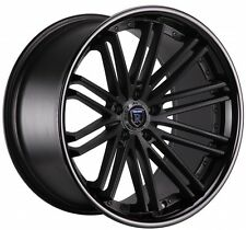 """20"""" ROHANA RC20 STAGGERED WHEELS 5X114.3 RIM FITS G35 MUSTANG 350Z"""