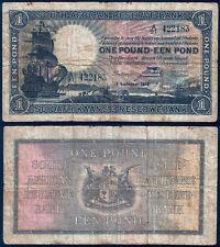 South Africa P 84 e - 1 Pound 1939 - Fine