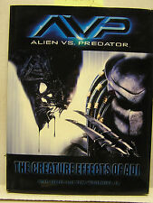 2004 ALIEN vs PREDATOR- Creature Effects of ADI-Hardcover Reference Book (B2592)