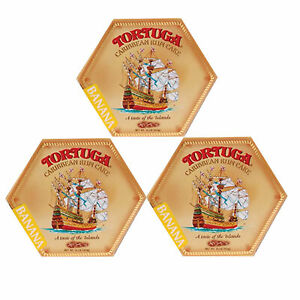 Tortuga Caribbean Rum Cake 16 oz Cake Banana Flavor (3-PACK) FATHER'S DAY SALE