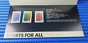 1981 Singapore Presentation Pack Sports for All Special Stamp Issue MNH