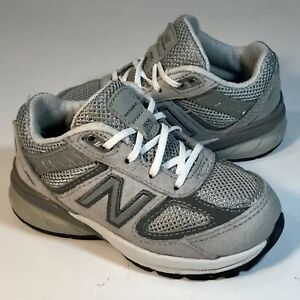 New Balance 990v5 Gray Athletic/Running Sneakers Toddler Size 6 (IC990GL5)