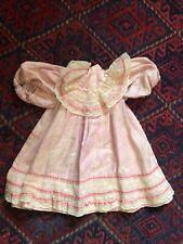 Belle robe ancienne pour poupée jumeau et autres