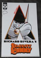 Richard Rivera Signed! Stabbity Bunny #2 Clockwork Orange Variant! 500 Print Run