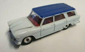Dinky Fiat 2300 Station Wagon Car #172 - White/Blue
