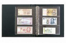 Leuchtturm Banknotenalbum VARIO inkl. 10 Hüllen rot