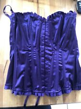 Primark Purple Lace Up Corset Brand New With Tags