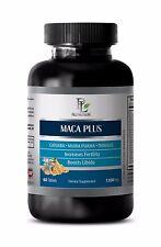 Maca root powder MACA PLUS ORGANIC COMPLEX 1300 mg Anti-depressive effect 1B