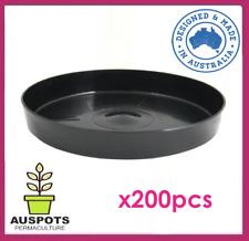Saucer for 140 to 150mm Pots x 200pcs / High Quality Polypropylene