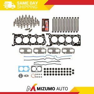 Head Gasket Set Bolts Lifters Fit 95-07 Ford Mustang Lincoln Mercury 4.6 32V