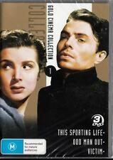 THIS SPORTING LIFE, ODD MAN OUT, VICTIM - 3 FILMS - NEW DVD- FREE LOCAL POST