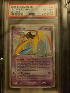 Pokemon PSA 8.5 NM-MINT ex Deoxys DEOXYS 98/107 Ultra Rare