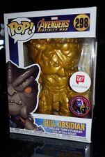 The Avengers Infinity War GOLD Cull Obsidian Pop Vinyl Figure Funko RARE