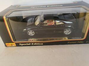 Maisto Special Edition 1990 Ferrari 348TS black 1:18 Metal Diecast